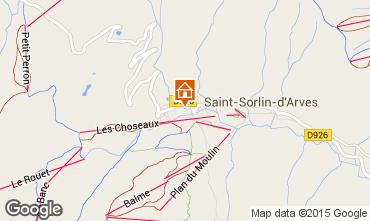 Mapa Saint Sorlin d'Arves Apartamentos 2684
