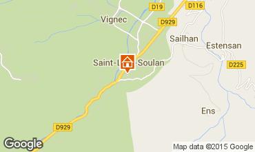 Mapa Saint Lary Soulan Apartamentos 4439