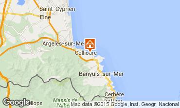 Mapa Collioure Apartamentos 93240