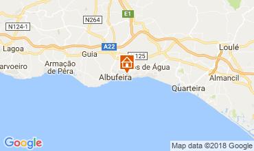 Mapa Albufeira Apartamentos 113837