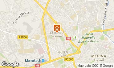 Mapa Marraqueche Apartamentos 85177