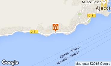 Mapa Ajaccio Apartamentos 84229