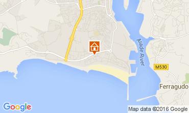 Mapa Praia da Rocha Apartamentos 44018
