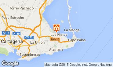 Mapa Cartagena Apartamentos 100156