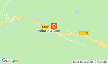 Mapa La Grave - La Meije Apartamentos 32294