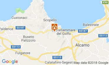 Mapa Scopello Vivenda 117081