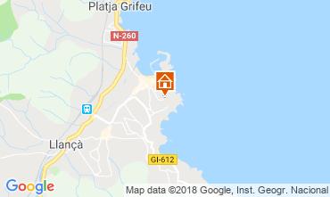 Mapa Llança Apartamentos 116387