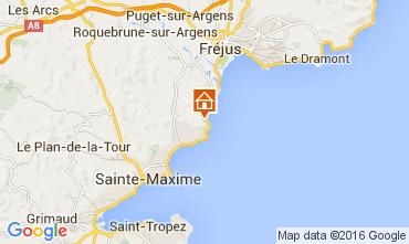 Mapa Les Issambres Vivenda 104843
