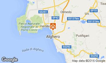 Mapa Alghero Apartamentos 65932