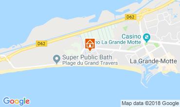 Mapa La Grande Motte Apartamentos 105795