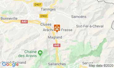 Mapa Les Carroz d'Araches Estúdio 60427