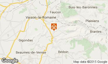 Mapa Malaucène Casa de turismo rural/Casa de campo 83743
