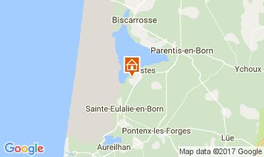 Mapa Biscarrosse Mobil Home 108709