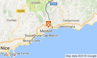 Mapa Menton Apartamentos 113458