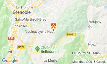 Mapa Chamrousse Estúdio 28359