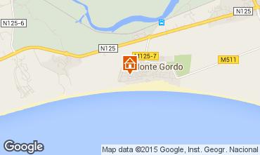 Mapa Monte Gordo Apartamentos 83181