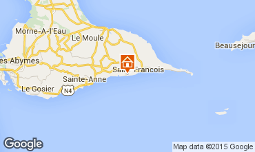 Mapa Saint Francois Apartamentos 90989