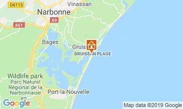 Mapa Gruissan-Plage Apartamentos 79185