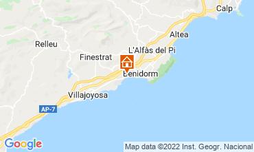 Mapa Alicante Apartamentos 114188