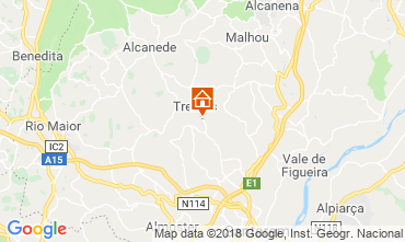 Mapa Rio Maior Vivenda 105698