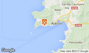 Mapa Ajaccio Estúdio 95253