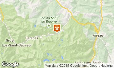 Mapa La Mongie Est�dio 4288