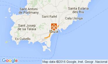 Mapa Ibiza Apartamentos 98200