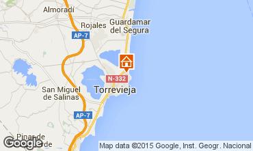 Mapa Torrevieja Apartamentos 101525