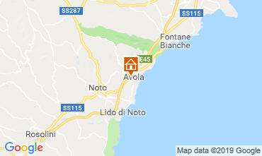Mapa Avola Apartamentos 87482