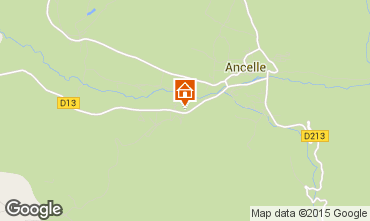 Mapa Ancelle Chalé 78718