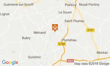 Mapa Baud Vivenda 115829