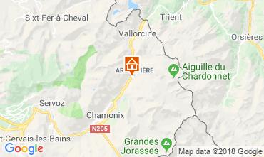 Mapa Chamonix Mont-Blanc Apartamentos 116295