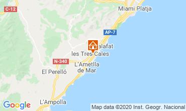Mapa La Ametlla de Mar Vivenda 114098