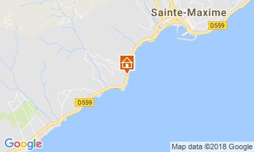 Mapa Sainte Maxime Vivenda 115524