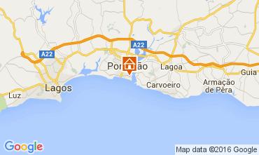 Mapa Praia da Rocha Apartamentos 88423