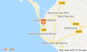 Mapa Fromentine Casa 116359