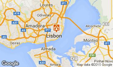 Mapa Lisboa Apartamentos 56054