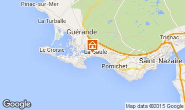 Mapa La Baule Apartamentos 69634
