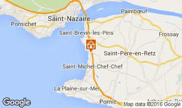 Mapa Saint Brevin les Pins Mobil Home 102715