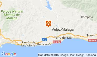 Mapa Vélez Málaga Bungalow 107475