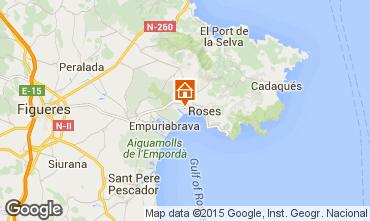 Mapa Rosas Apartamentos 8306