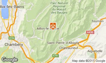 Mapa Les Aillons Estúdio 64343