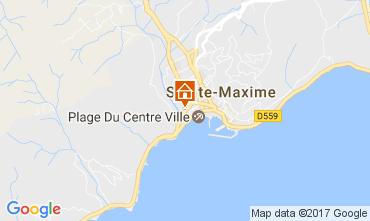 Mapa Sainte Maxime Estúdio 108032