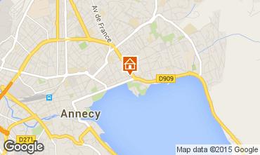 Mapa Annecy Est�dio 74335