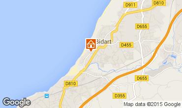Mapa Bidart Apartamentos 85703