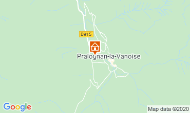 Mapa Pralognan la Vanoise Apartamentos 2284