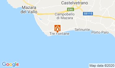 Mapa Tre Fontane Apartamentos 104376