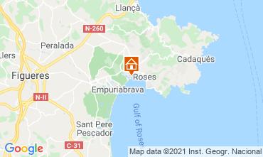 Mapa Rosas Apartamentos 105098