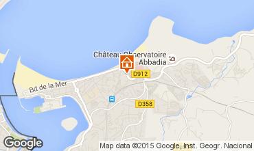 Mapa Hendaye Apartamentos 66572