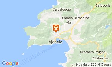 Mapa Ajaccio Apartamentos 80878
